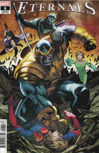 Eternals #6 1:25 Geoff Shaw Variant Thanos Marvel 2021 Kieron Gillen