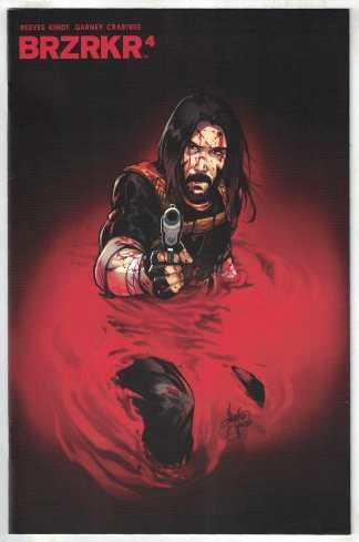 BRZRKR #4 1:25 Mirka Andolfo Variant Boom 2021 Keanu Reeves VF/NM