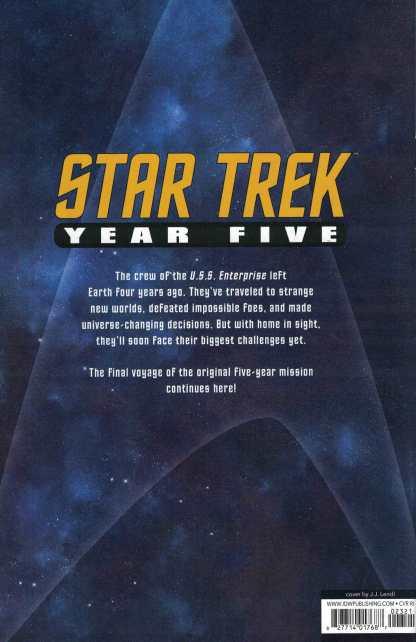 Star Trek Year Five #23 1:25 JJ Lendl Variant IDW 2019