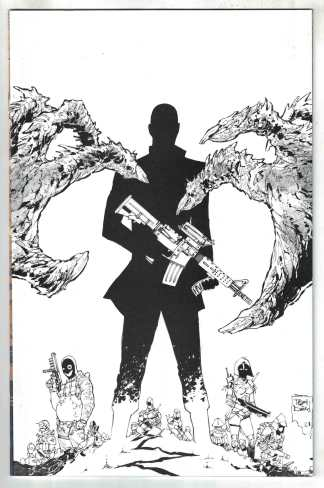 Nocterra #5 1:10 Daniel B&W Virgin Variant Image 2021 Snyder VF/NM