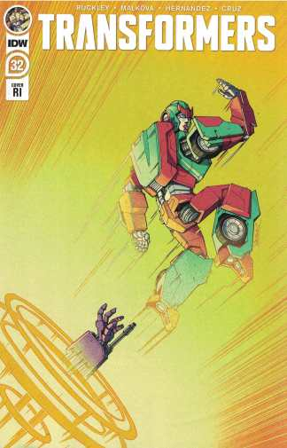 Transformers #32 1:10 Winston Chan Variant IDW 2019 Brian Ruckley