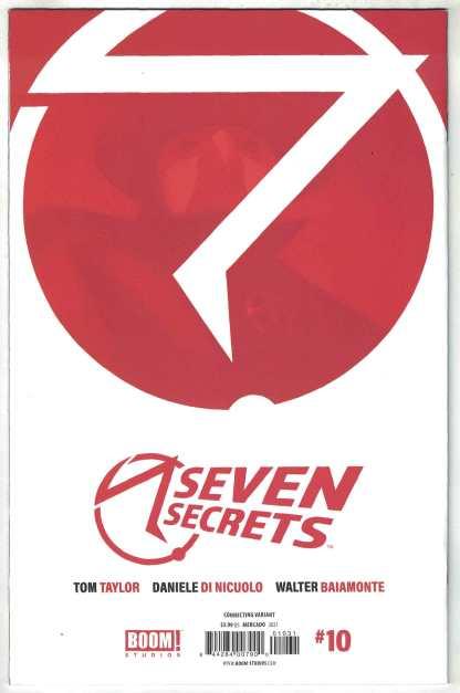 Seven Secrets #10 1:10 Miguel Mercado Variant Boom 2020 Tom Taylor NM-