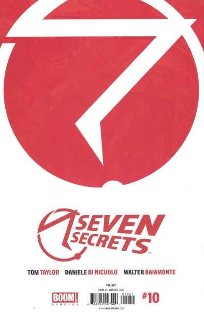 Seven Secrets #10 Jonboy Meyers 1 Per Store Virgin Variant Boom 2020 Tom Taylor