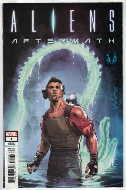 Aliens Aftermath #1 1:25 Dave Wachter Variant Marvel 2021 Ben Percy VF/NM