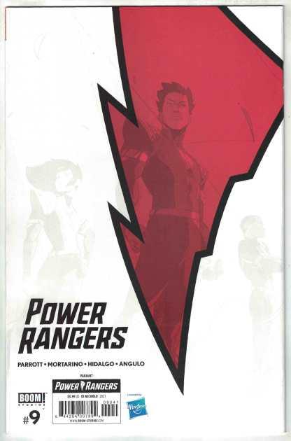 Power Rangers #9 1:25 Daniele Di Nicuolo Virgin Variant Boom 2020 VF/NM