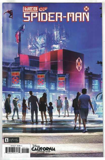 Web of Spider-Man #1 Matuszak Attraction Variant Marvel 2021 1st Keener VF/NM