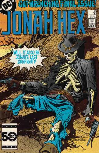 Jonah Hex #92 Klaus Janson A CVR DC 1977 Final Issue