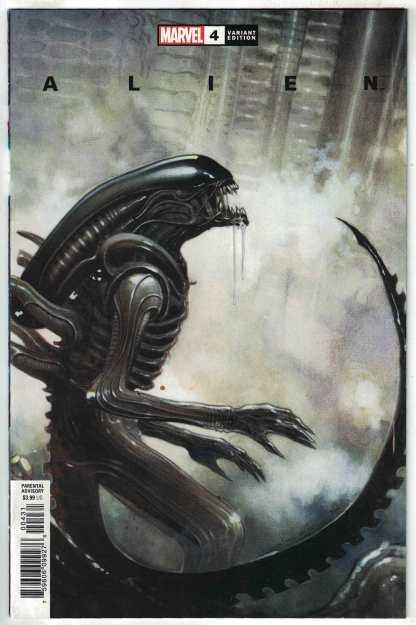 Alien #4 1:25 Olivier Coipel Variant Marvel 2021 Phillip Kennedy Johnson VF/NM