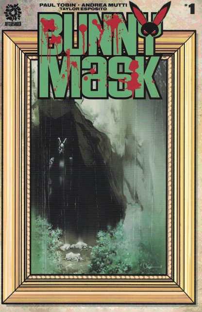 Bunny Mask #1 1:15 Charlie Adlard Variant Aftershock 2021 Paul Tobin