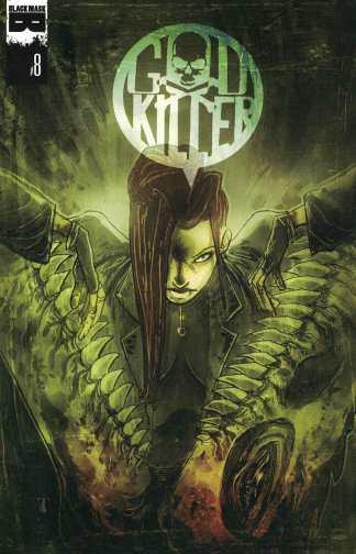 Godkiller: Walk Among Us #8 Ben Templesmith A CVR Black Mask Comics 2014