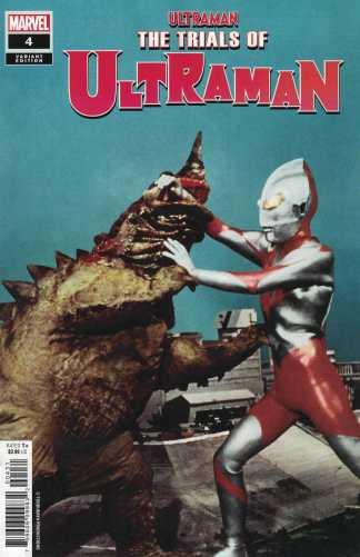 Trail of Ultraman #4 1:10 Photo Variant Marvel 2021 Kyle Higgins