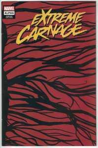 Extreme Carnage Alpha #1 1:50 Wraparound Symbiote Variant Marvel 2021 NM-
