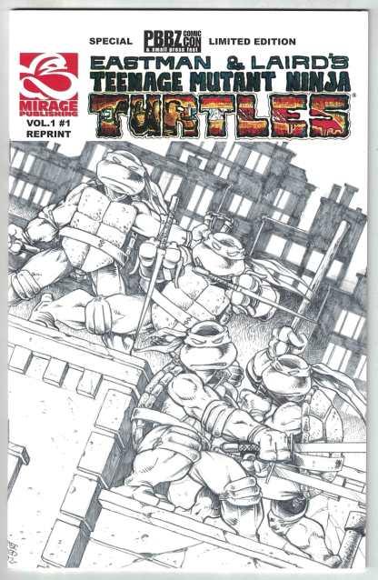 Teenage Mutant Ninja Turtles #1 Eastman PBBZ Comic Con Variant Mirage 2005 VF/NM