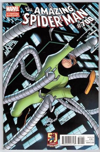 Amazing Spider-Man #700 5th Print Humberto Ramos Variant Marvel VF/NM