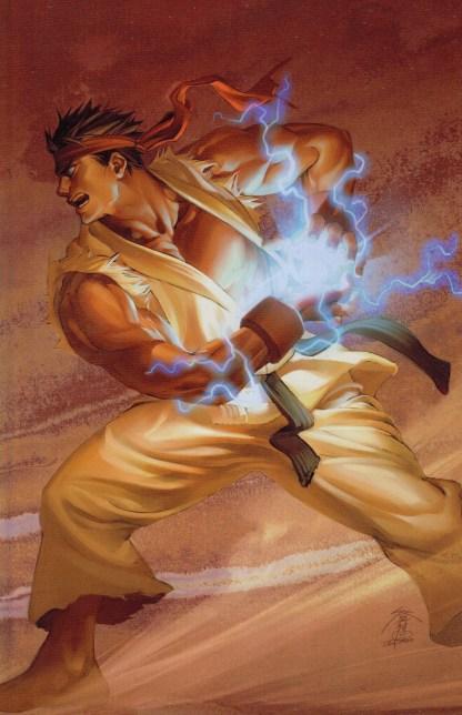 Street Fighter #7 Power Foil Incentive Variant Udon Image 2003