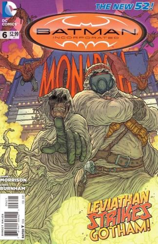 Batman Incorporated #6 Juan Jose Ryp Variant DC New 52 2012