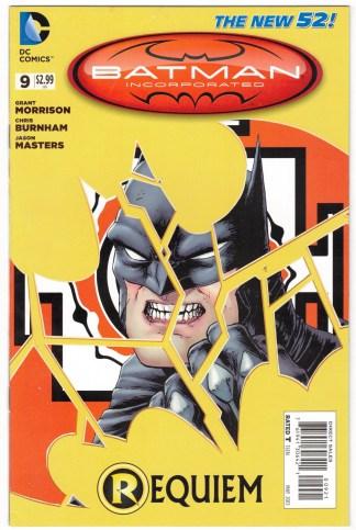 Batman Incorporated #9 Chris Burnham Variant DC New 52 2012 VF/NM