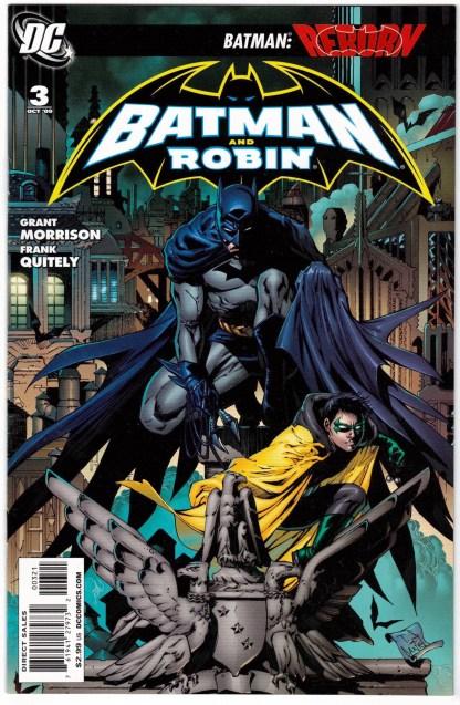Batman and Robin #3 1:25 Tony S Daniel Variant DC 2009 VF/NM