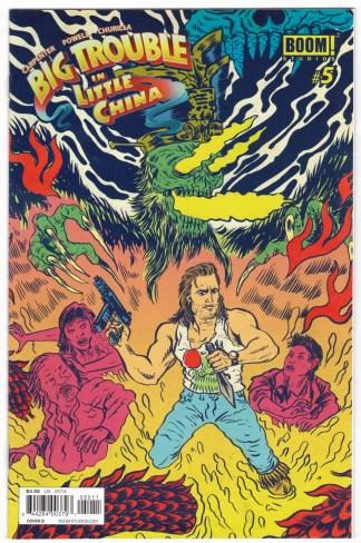 Big Trouble in Little China #5 1:10 Alexis Ziritt Variant Boom 2014 VF/NM