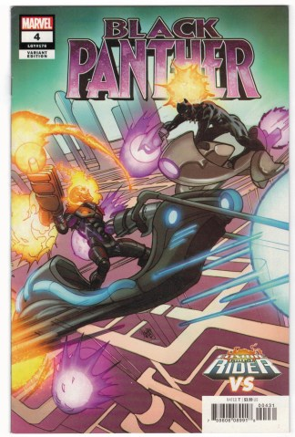 Black Panther #4 Pasqual Ferry Cosmic Ghost Rider Variant Marvel 2018 VF/NM