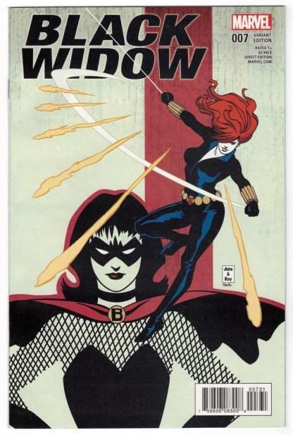 Black Widow #7 1:15 June Brigman Classic Variant Marvel 2016 VF/NM