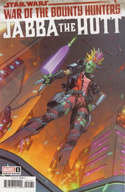 Star Wars War of the Bounty Hunters Jabba the Hutt #1 1:25 Coello Variant 2021