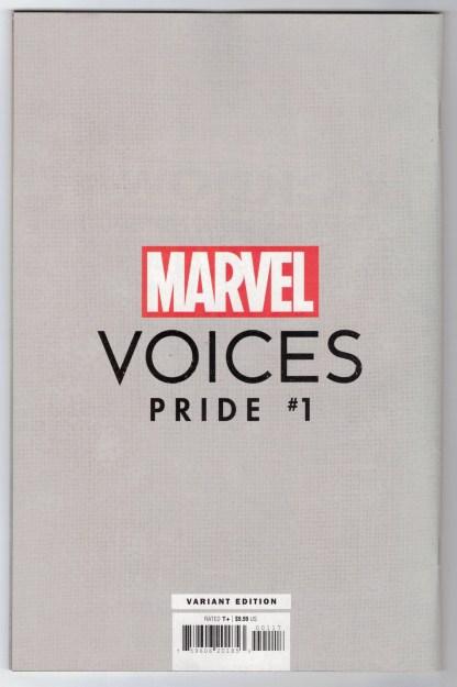 Marvels Voices Pride #1 1:50 Jimenez Hulkling Wiccan Virgin Variant 2021 VF/NM