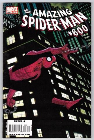 Amazing Spider-Man #600 John Romita Jr Wraparound Variant Marvel VF/NM