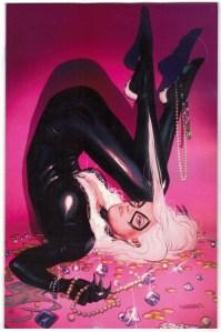 Black Cat #9 1:100 Sway Virgin Variant Marvel 2020 VF/NM