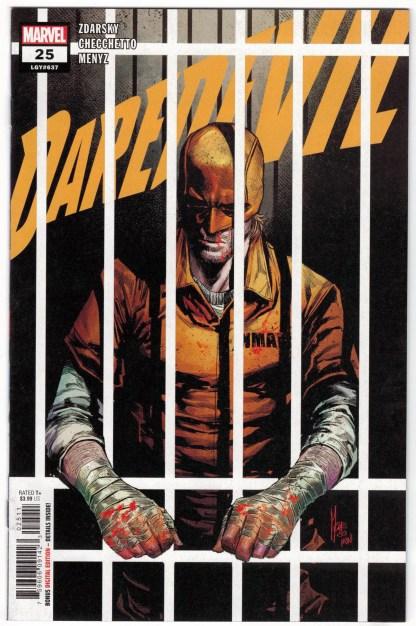 Daredevil #25 1st Print Cover A Checchetto Elektra Marvel 2019 Zdarsky VF/NM