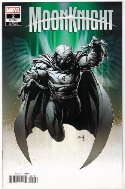 Moon Knight #2 1:25 David Finch Variant Marvel 2021 VF/NM
