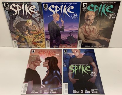 Spike A Dark Place #1-5 Dark Horse 2012 Buffy BTVS VF/NM