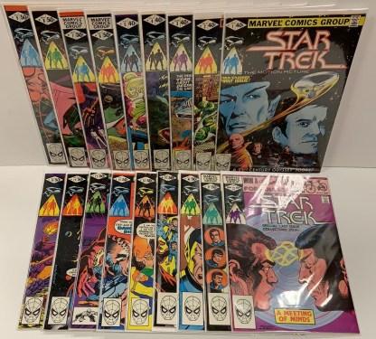 Star Trek #1-18 Complete Marvel Series 1980 VF/NM