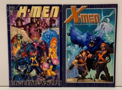 X-Men Millennial Visions #1-2 Complete Set Marvel 2000-2001 VF/NM