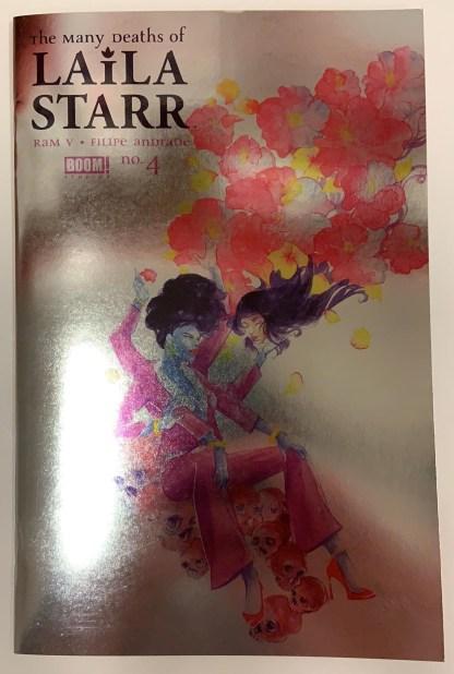 Many Deaths of Laila Starr #4 Ariela Kristantina Foil Variant Boom 2021 VF/NM