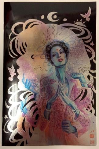 Many Deaths of Laila Starr #1 1:100 David Mack Foil Virgin Variant Boom 2021 NM