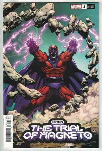 X-Men Trial of Magneto #1 1:50 Capullo Variant Marvel 2021 VF/NM