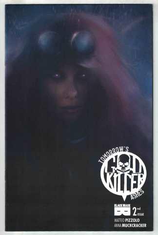 Godkiller Tomorrows Ashes #2 1:30 Pfeiffer Variant Black Mask 2021 Pizzolo VF/NM