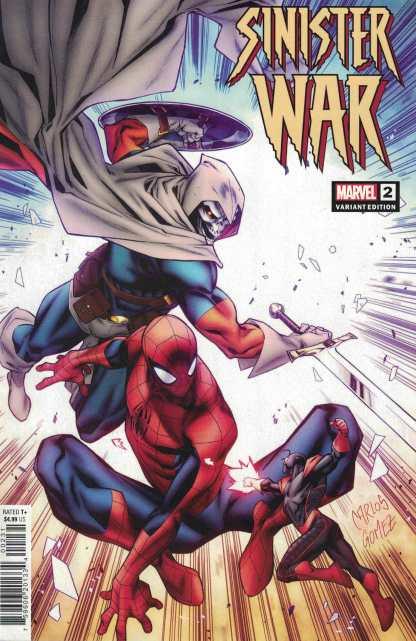 Sinister War #2 1:25 Gomez Variant Spencer Bagley Marvel 2021