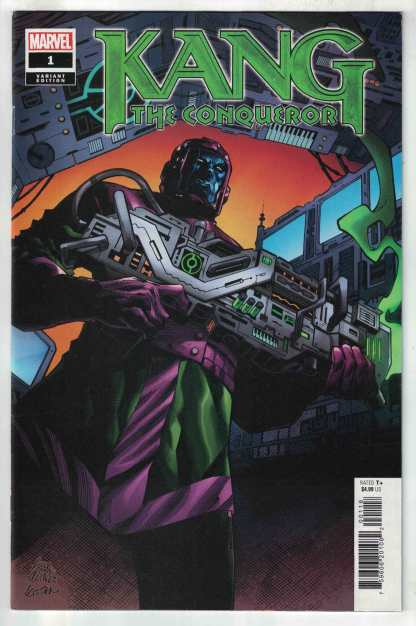 Kang the Conqueror #1 1:50 Stegman Variant Marvel 2021 VF/NM