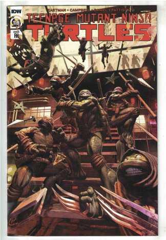 Teenage Mutant Ninja Turtles #119 1:10 McArdell Variant IDW 2011 VF/NM