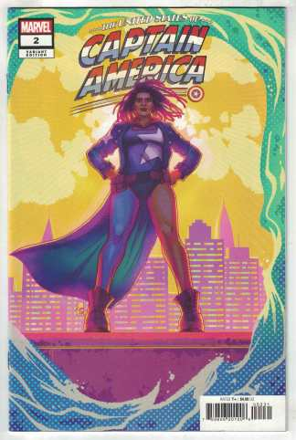 United States of Captain America #2 1:25 Souza Variant Marvel 2021 VF/NM