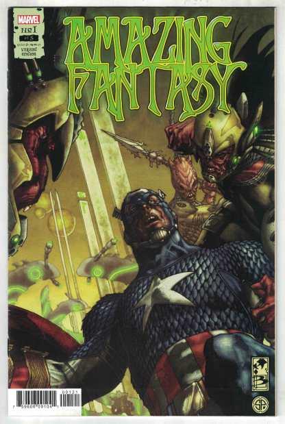 Amazing Fantasy #1 1:50 Simone Bianchi Variant Marvel 2021 Kaare Andrews VF/NM
