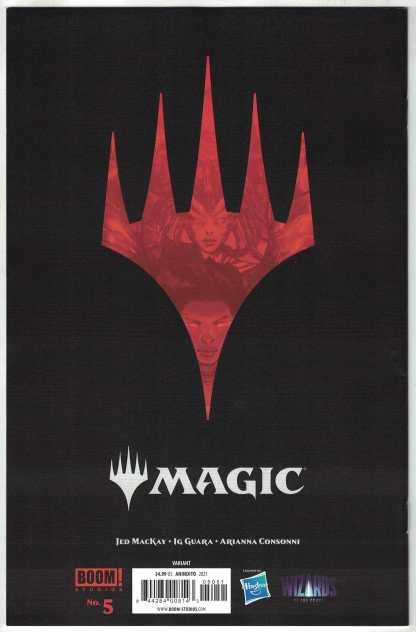 Magic the Gathering #5 1:25 Ario Anindito Variant Boom 2021 Jed MacKay VF/NM