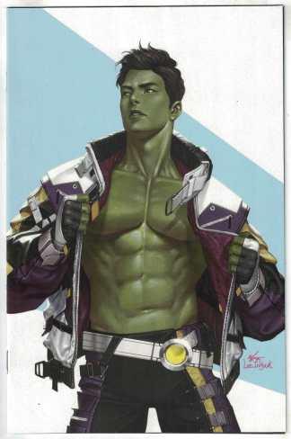 Immortal Hulk #49 1:50 Inhyuk Lee Virgin AAFI Heritage Variant Marvel 2018 VF/NM