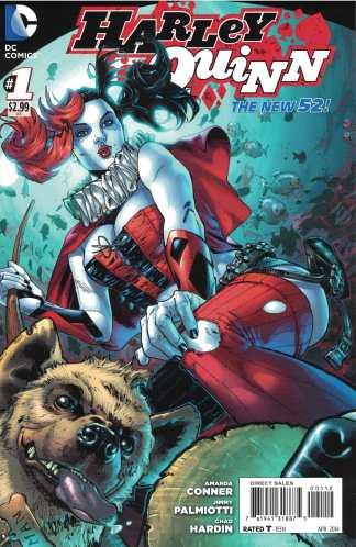Harley Quinn #1 2nd Print Conner DC New 52 2014