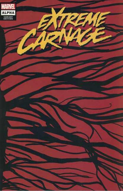 Extreme Carnage Alpha #1 1:50 Wraparound Symbiote Variant Marvel 2021