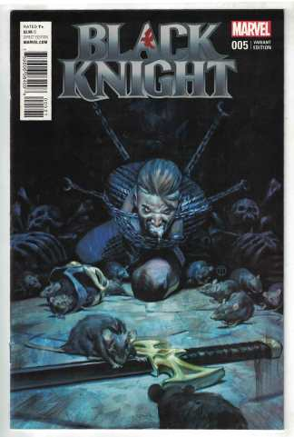 Black Knight #5 Julian Totino JT Tedesco Final Issue Variant Marvel 2015 VF/NM