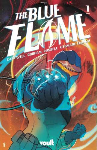 Blue Flame #1 1:30 Ward Variant Vault 2021 Cantwell