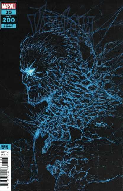 Venom #35 Second Print Gleason Variant #200 Cates Marvel 2016